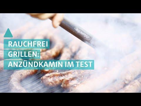 Rauchfrei grillen: So verwenden Sie einen Anzündkamin richtig | BAUEN & WOHNEN