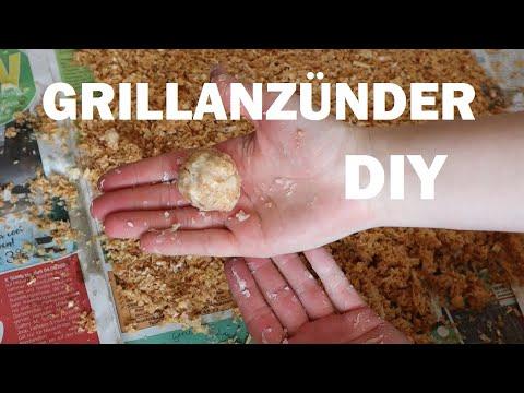 Grillanzünder selber machen DIY