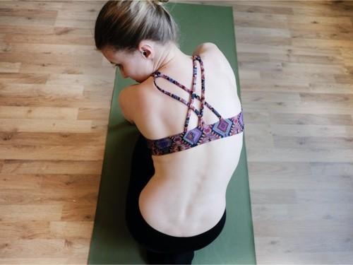 Rücken dehnen